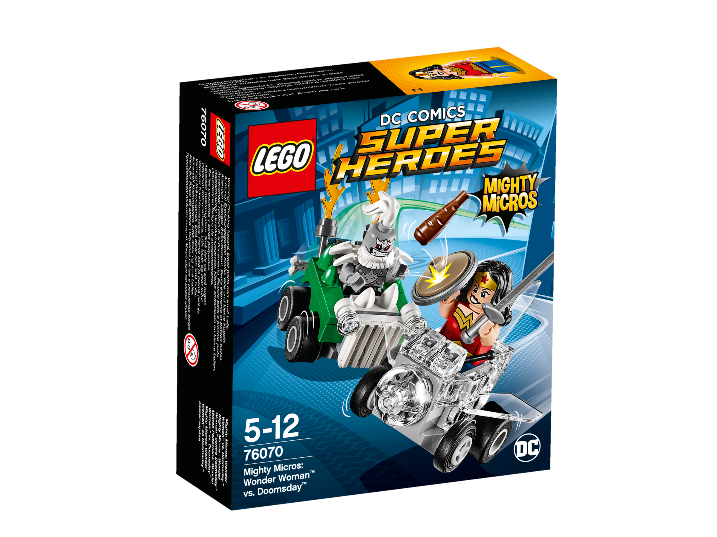 ighty Micros: Wonder Woman mod Doomsday fra LEGO Super Heroes DC